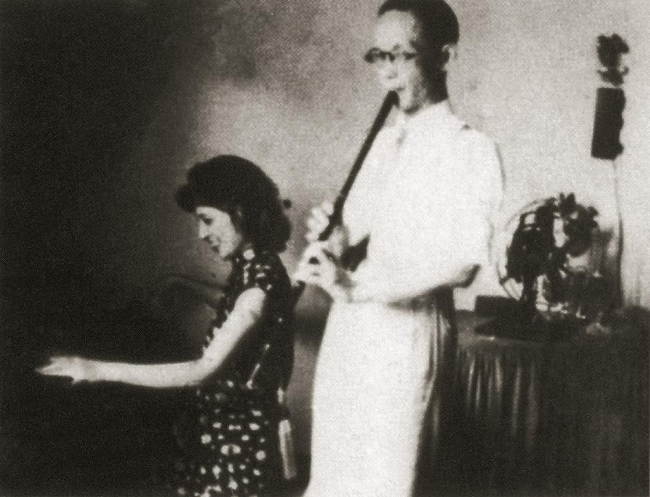 蔡德允-沈草農 Cai laoshi et son maître Shen Caonong